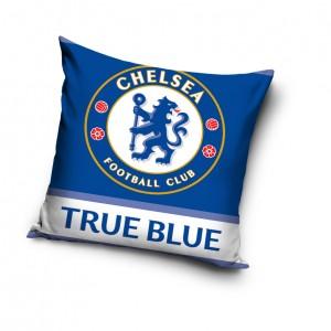 Vankúš modrej farby FC Chcelsea
