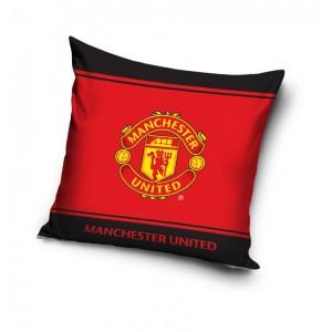 Červené detské vankúše s motívom Manchester United