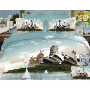 3D obliečka na posteľ s motívom Sidney