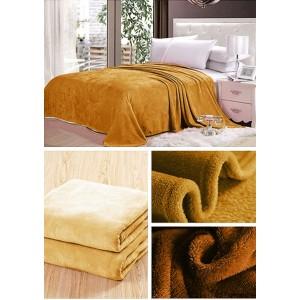 Deky medovej farby na posteľ pre deti