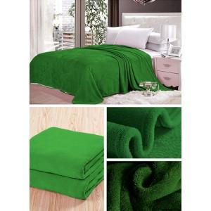 Dekoračná prikrývka zelenej farby