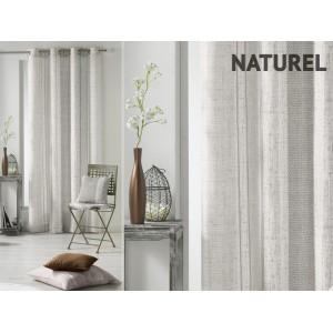 Sivo béžové škandinávske závesy na okno