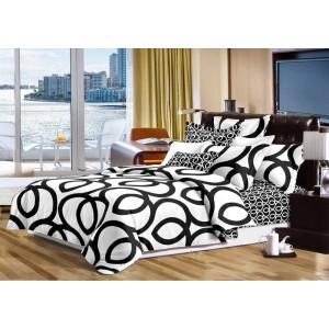 Prešívané prehozy biele na manželskú posteľ