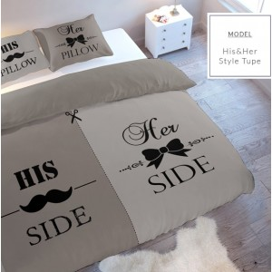 Hnedé posteľné obliečky na manželskú posteľ