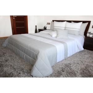 Bielo sivé prehozy na manželskú posteľ