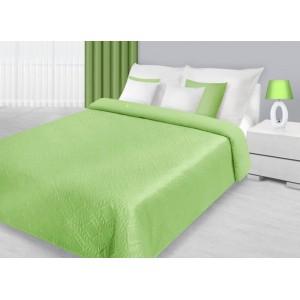 Luxusné prikrývky na manželskú posteľ v pistáciovej farbe