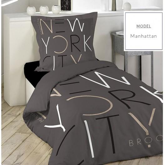 NEW YORK bavlnená posteľná obliečka 140x200cm