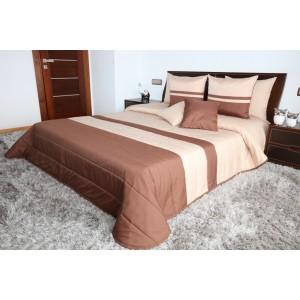 Luxusné béžové prehozy na posteľ