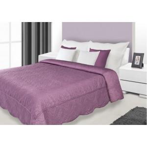 Luxusný fialový prehoz na manželskú posteľ