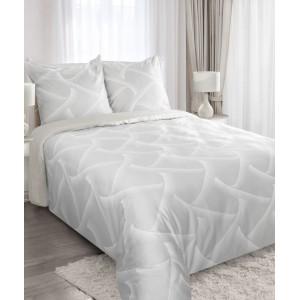 Sivé posteľné obliečky z bavlny 200x220 cm