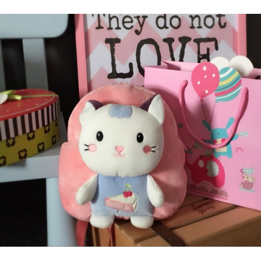 Ružový plecniačik pre dievčatká