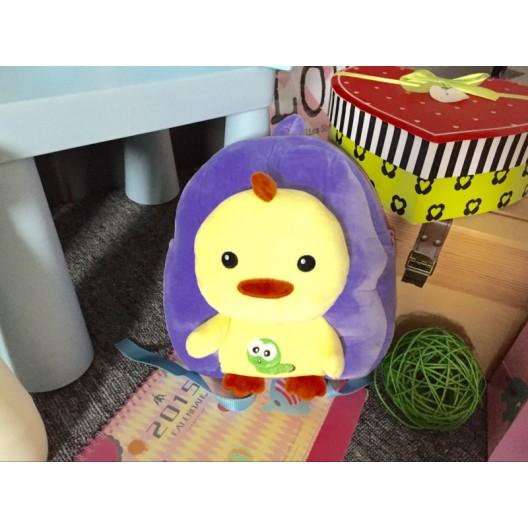 Plyšový detský ruksak s kačičkou