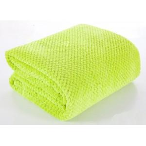 Zelené deky a prikrývky na posteľ 220x240 cm