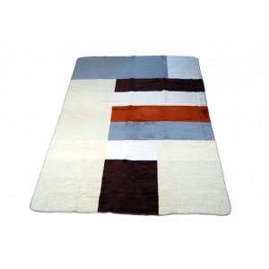 Hrubé krémové deky 100cm x 150cm