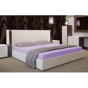 Svetlofialové plachty na postele 140x200 cm