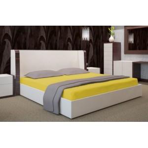 Žlté prestieradlá na postele