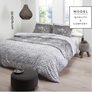 Moderné bavlnené posteľné obliečky 200x220cm