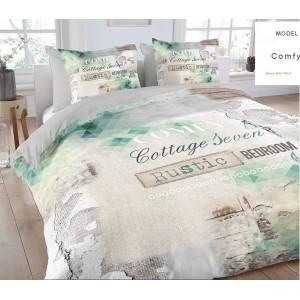 Rustikálne posteľné obliečky