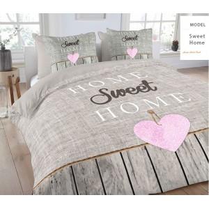 Posteľné obliečky Sweet Home