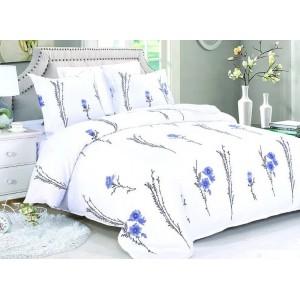 Biele posteľné obliečky v rozmere 200x220 cm