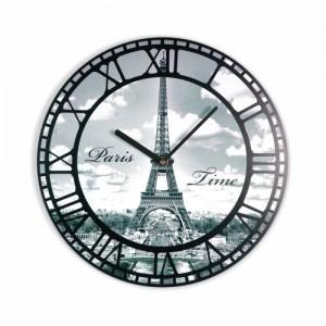 Eiffelová veža hodiny na stenu