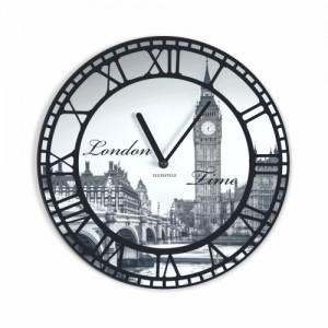 Vintage nástenné hodiny motív Londýn