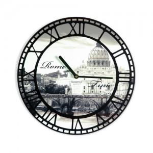 Nástenné hodiny s motívom Ríma