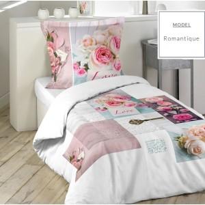 Romantické posteľné obliečky 140x200