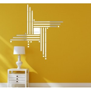Moderné dekoračné doplnky zrkadlá na stenu