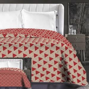 Luxusné béžové prehozy na posteľ obojstranné