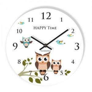 Okrúhle nástenné hodiny do detskej izby