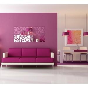 Dizajnové hranaté zrkadlá do moderného interiéru