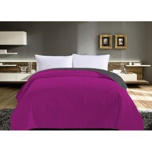 Kvalitné ružové prehozy na manželskú posteľ