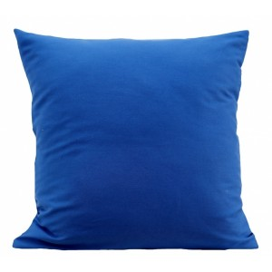 Dekoratívne obliečky na vankúše modrej farby