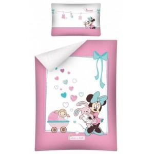 Mickey mouse ružové detské posteľné obliečky