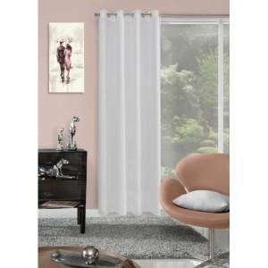 Luxusné závesy na okno v bielej farbe