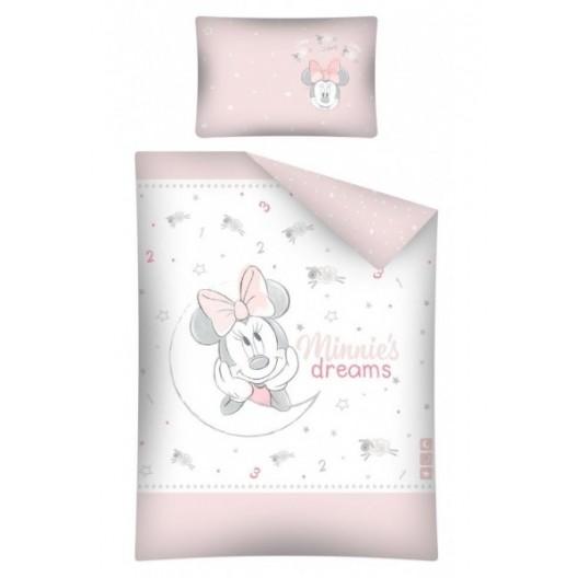Ružové posteľné obliečky pre deti Minnie