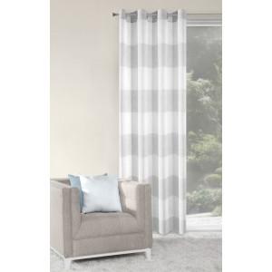 Luxusné závesy na okná sivej farby