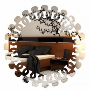 Dekoračné akrylové zrkadlá na stenu