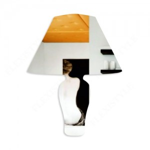 Originálne akrylové zrkadlá v dizajne lampa
