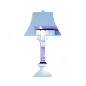 Moderné dekroračné zrkadlo lampa
