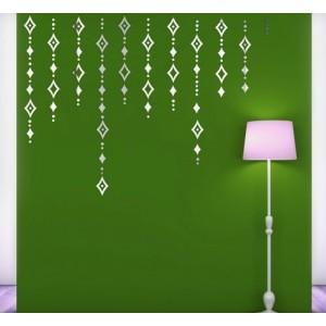 Dekoračné zrkadlo na stenu