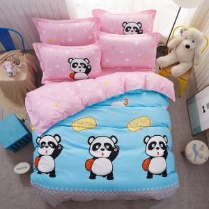 Detské  posteľné obliečky s pandou