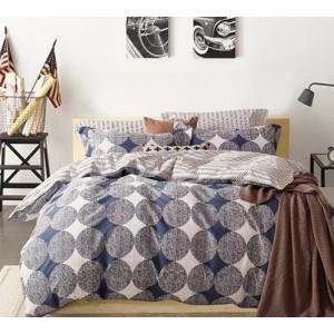 Obojstranné posteľné obliečky v sivej farbe
