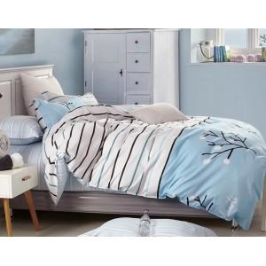 Moderné posteľné obliečky bielej farby