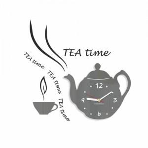 Dekoračné kuchynské hodiny Tea Time