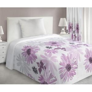 Luxusný prehoz na posteľ s kvetmi