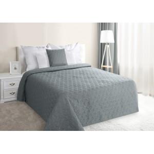 Sivé prešívané prehozy na manželskú posteľ