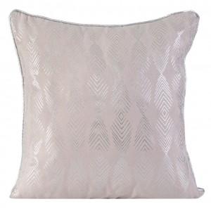 Ozdobná vzorovaná obliečka na vankúš v ružovej farbe