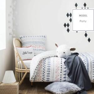 Kvalitné biele posteľné obliečky pre deti